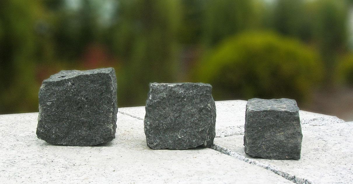 Kostki granitowe czarne