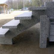 schody granitowe ze Strzegomia